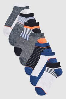 Next Trainer Socks Seven Pack (Older)
