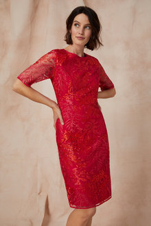 Grace Hill Embroidered Dress - 233153