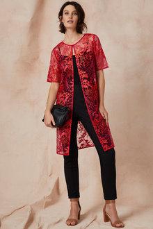 Grace Hill Embroidered Kimono - 233154