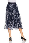 Grace Hill Embroidered Lace Skirt