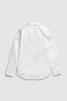 Next Signature Long Sleeve Tonal Geo Smart Shirt (3-16yrs)