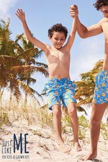 Next Duck Print Swim Shorts (3mths-16yrs)