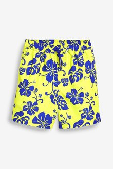Next Hibiscus Print Swim Shorts (3mths-16yrs) - 233235