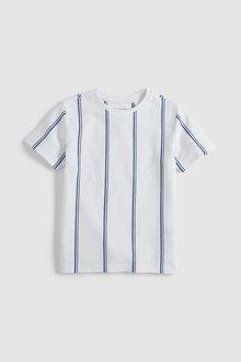 Next Vertical Stripe T-Shirt (3-16yrs)