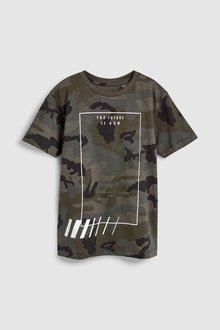 Next All Over Print T-Shirt (3-16yrs)