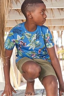 Next All Over Print Floral T-Shirt (3-16yrs)