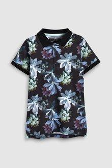 Next Floral All Over Print Poloshirt (3-16yrs)