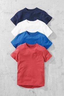 Next T-Shirts Four Pack (3-16yrs)