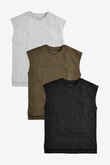 Next Tank Vests Three Pack (3-16yrs)