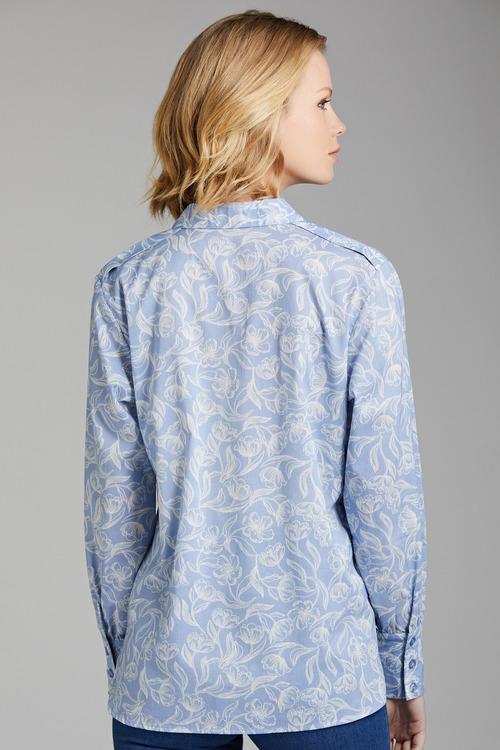 Grace Hill Cotton Shirt
