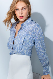 Grace Hill Cotton Shirt