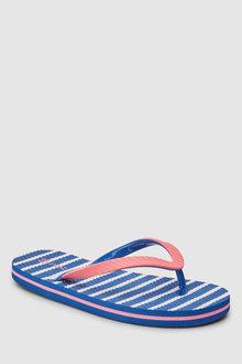 Next Stripe Flip Flops (Older)