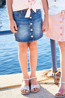 Next Utility Denim Skirt (3-16yrs)