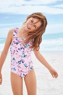 Next Floral Swimsuit (3-16yrs)