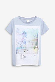 Next Sequin Printed T-Shirt (3-16yrs)