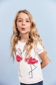 Next 3D Flamingo T-Shirt (3-16yrs)