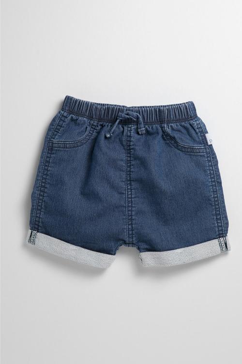 Pumpkin Patch Infant Denim Knit Short