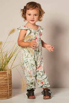 Next Floral All Over Print Playsuit (3mths-7yrs)