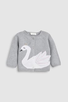 Next Swan Cardigan (0mths-2yrs)
