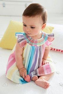 Next Stripe Smock Dress (0mths-2yrs)