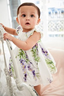 Next Smock Prom Dress And Knickers Set (0mths-2yrs)