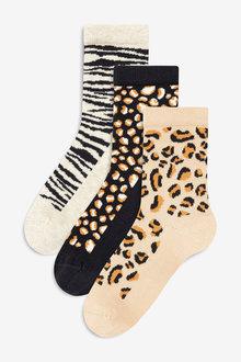 Next Animal Socks Three Pack (Older)