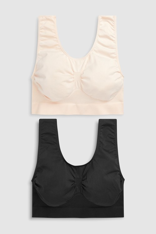 Next Non Wired Seamless Sleep Bras Two Pack
