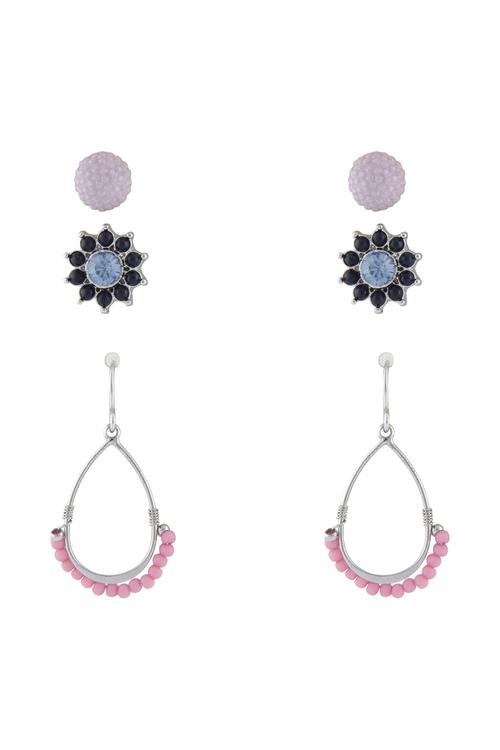Amber Rose Gelato Earring Set