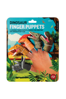 IS Dinosaur Finger Puppets