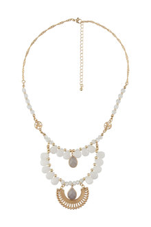 Amber Rose New Naturals Statement Necklace - 233688