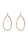 Amber Rose New Naturals Two Tone Earrings