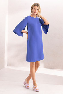Capture Cape Shift Dress - 233706