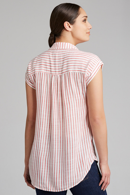 Capture Stripe Cuff Sleeve Shirt