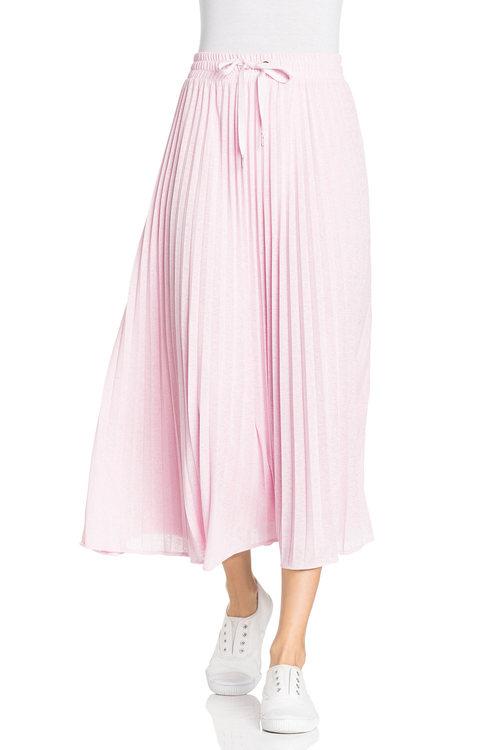 Capture Pleated Knit Skirt