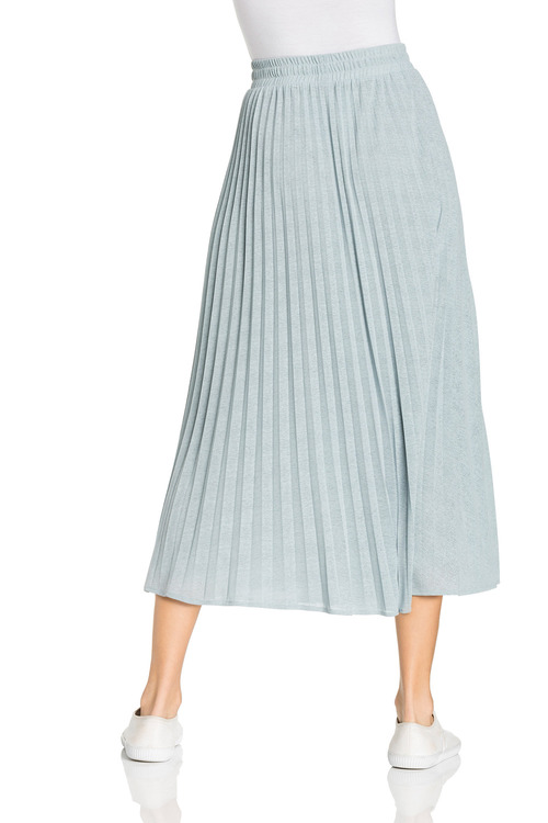 Capture Pleated Knit Skirt
