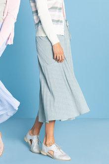 Capture Pleated Knit Skirt - 233712