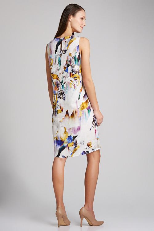 Capture Linen Shift Dress