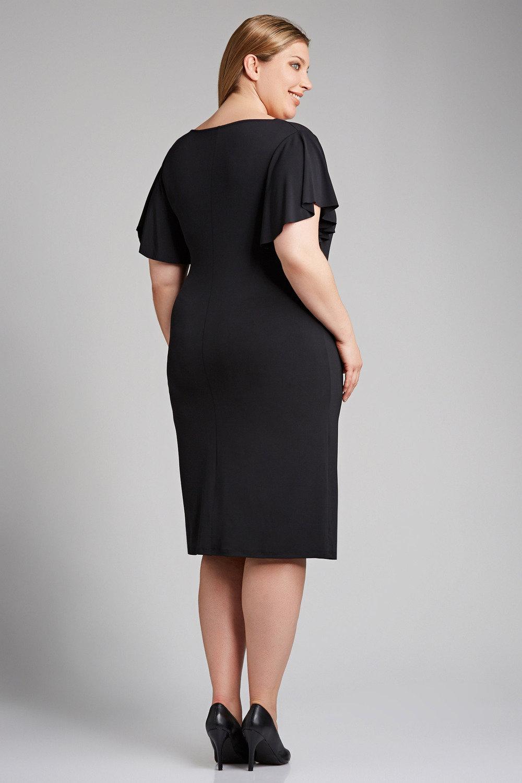 Shop black plus size formal dresses at Simply Dresses. Mock