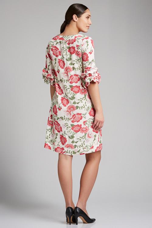 Grace Hill Fancy Sleeve Shift Dress