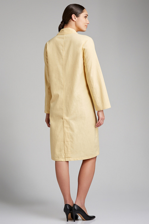 Grace Hill Linen Blend Longline Jacket
