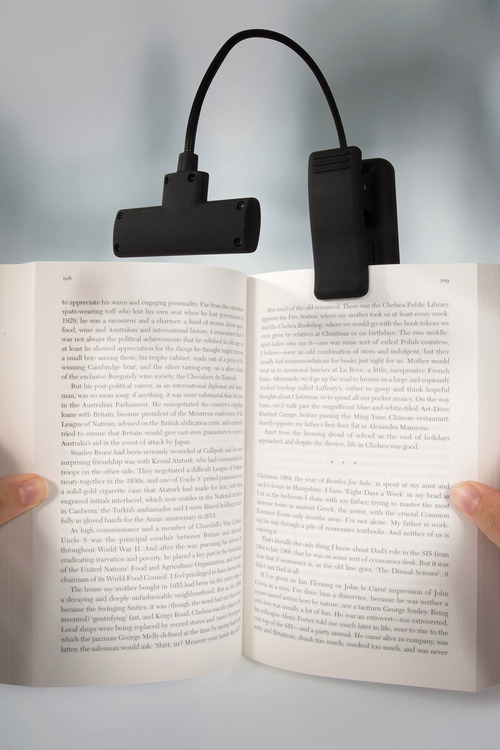 IS Clip-On Book Light