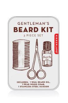 Kikkerland Gentlemen's Beard Kit