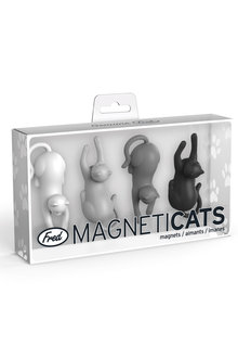 Fred MagnetiCats Set of Four
