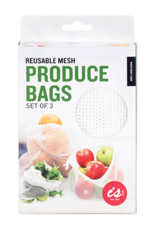 IS Mesh Produce Bags Set of Three