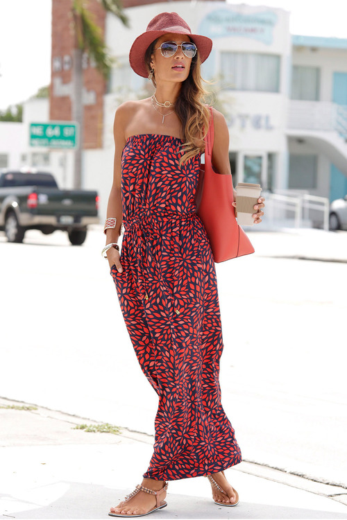 Urban Strapless Dress