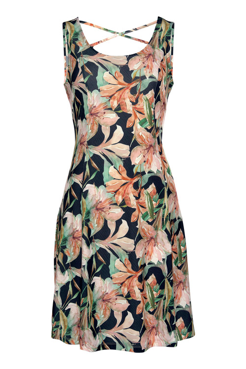 Urban Printed Summer Dress