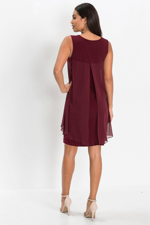 Urban Chiffon Shell Dress
