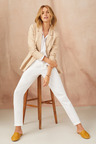 Emerge Linen Blend Unlined Blazer
