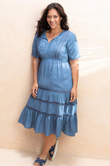 Plus Size - Sara Tiered Dress