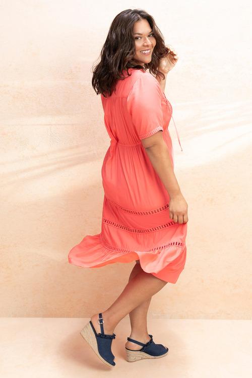 Plus Size - Sara Tiered Dress
